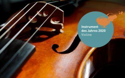 Instrument des Jahres 2020: Die Geige hat in Hamburg eine neue Plattform
